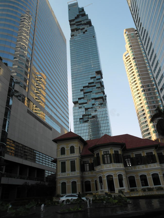 Hochhaus Bangkok fotografía de archivo