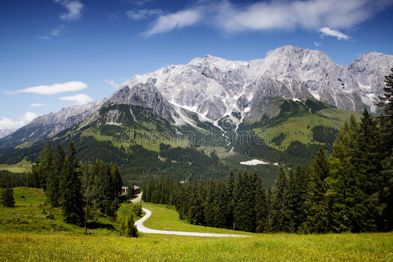 Hochkoenig山脉 库存图片