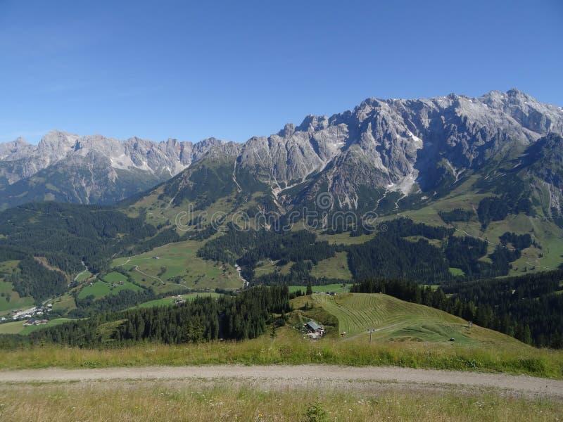 Hochkoenig, Berchtesgadener阿尔卑斯,奥地利 免版税库存图片