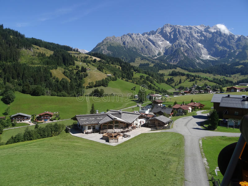 Hochkoenig Österrike royaltyfri foto