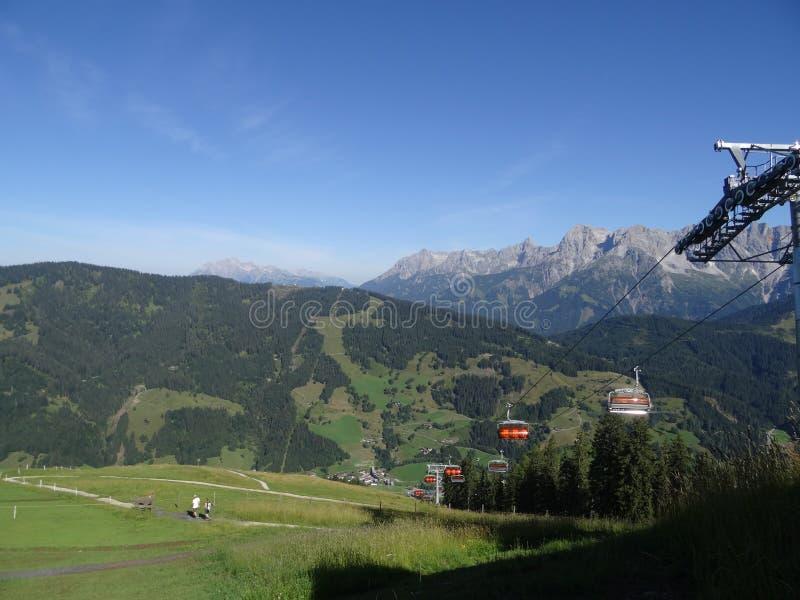 Hochkoenig Berchtesgadener fjälläng, Österrike royaltyfri foto