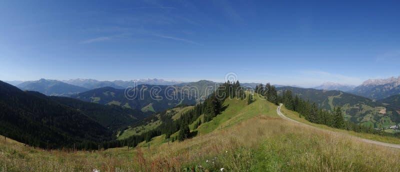 Hochkoenig, cume de Berchtesgadener, Áustria fotos de stock