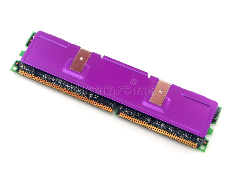Hochleistungs--Computer RAM lizenzfreie stockfotos