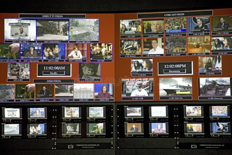 Hochmoderne digitale Leitstelle lizenzfreie stockfotos