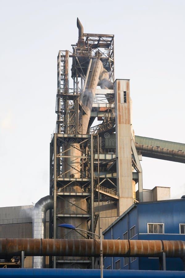 Hochofen - Symbol der Industrie stockfotografie