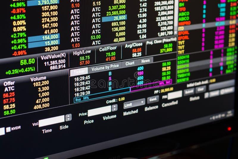 Hochs und Tiefs-Preis stockfoto