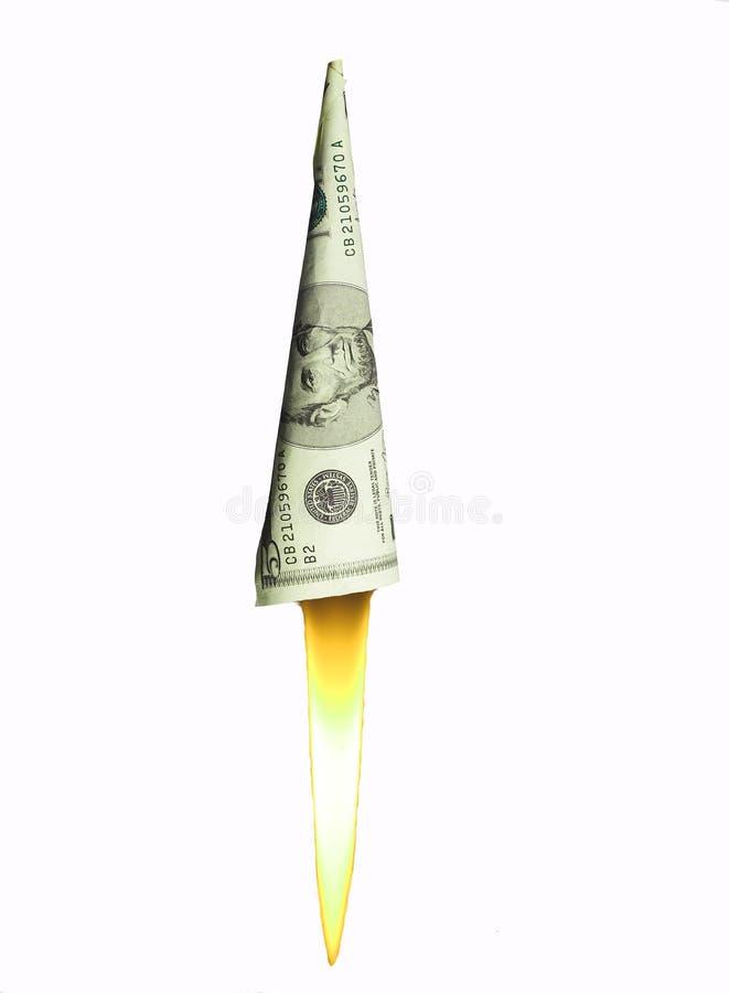 Download Hochschnellende Dollarpreise Stockfoto - Bild von hochschnellen, geld: 31626