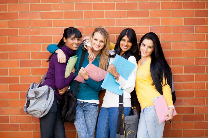 Hochschulfreunde lizenzfreies stockbild