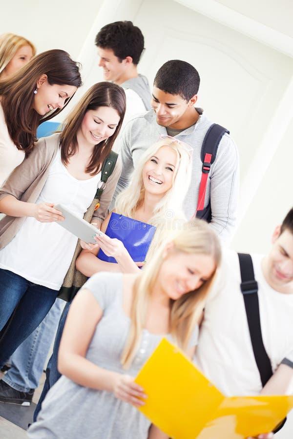 Hochschulstudenten stockfotos