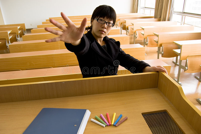 Hochschulstudenten stockfoto