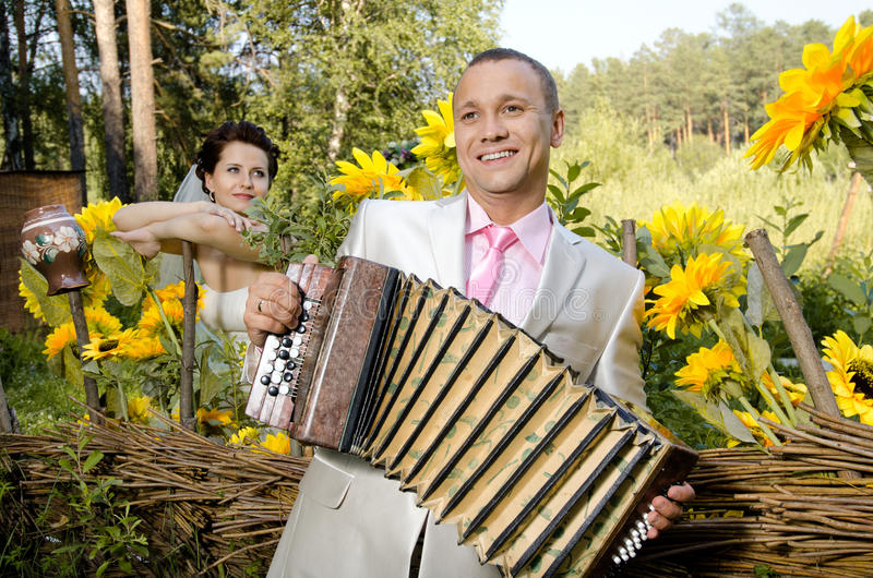 Hochzeit stockfoto