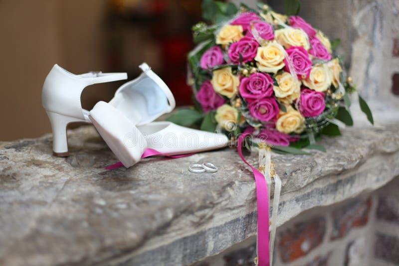 Hochzeit accessoires lizenzfreies stockbild