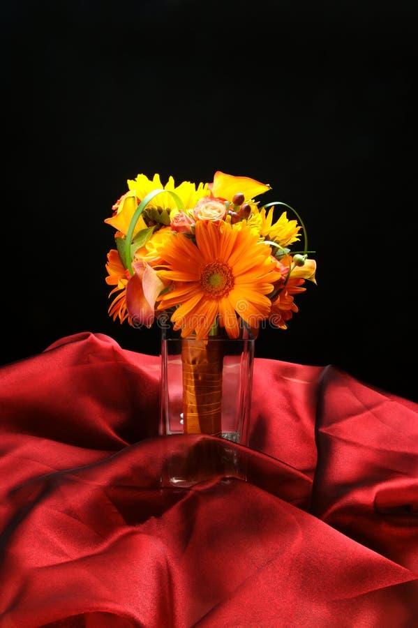 Hochzeit blüht Brautblumenstrauß lizenzfreies stockbild
