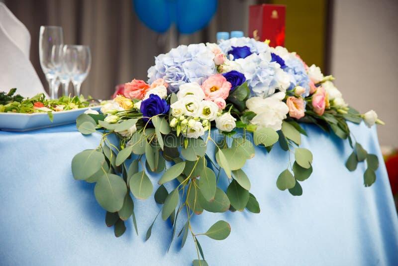 Hochzeit blüht Brautblumenstrauß Romantischer blühender Dekor, decorat lizenzfreie stockfotografie