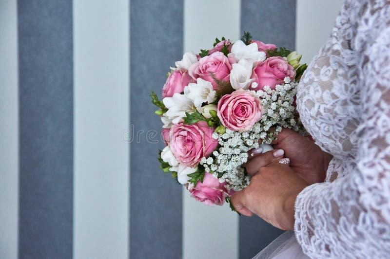 Hochzeit bouquete lizenzfreie stockfotos