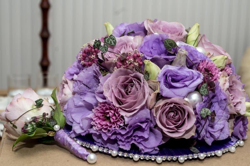 Hochzeit bouquete stockfotos