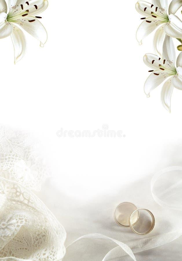 Hochzeit grüßen02 stock abbildung