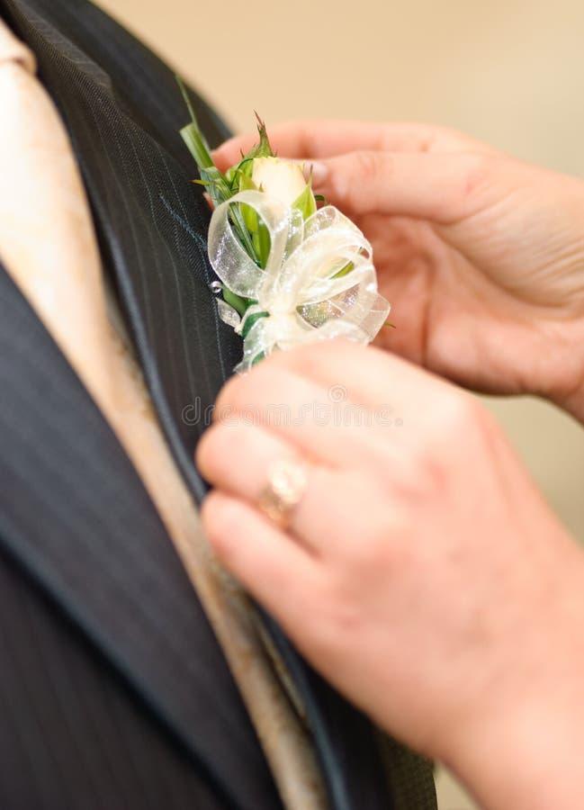 Hochzeit Posy stockbild