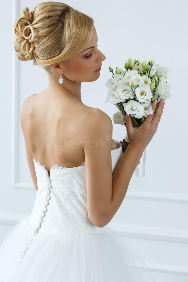 hochzeit Schöne Braut stockbild