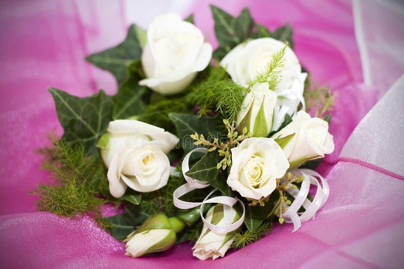 HochzeitCorsages stockbild