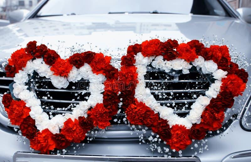 Hochzeits-Auto lizenzfreie stockfotografie