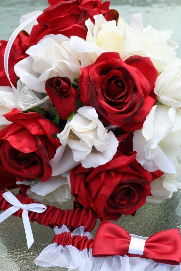Hochzeits-Blumenstrauß stockfotos