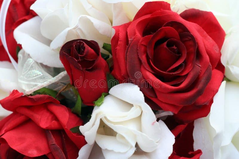 Hochzeits-Blumenstrauß lizenzfreies stockfoto