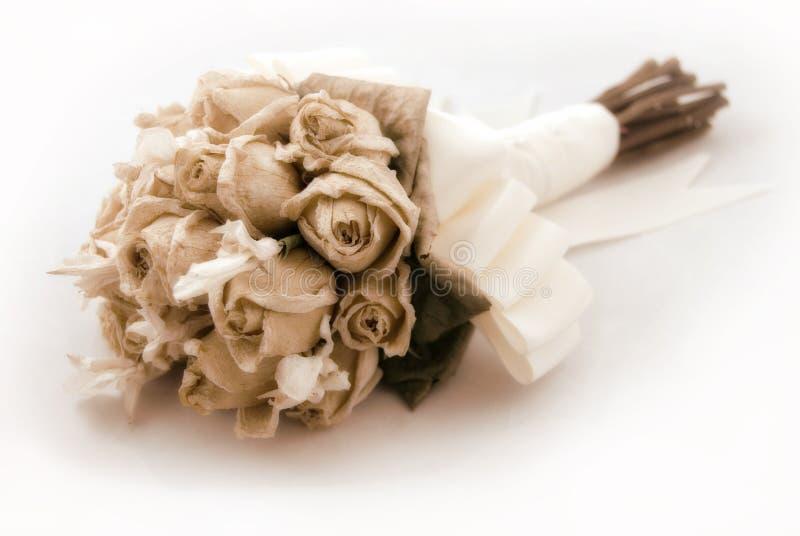 Hochzeits-Blumenstrauß (Weinlese/Nr. stockfoto