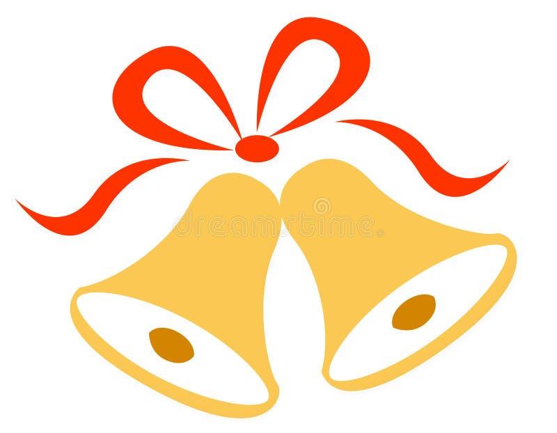 Hochzeits-/christmas-Glocken vektor abbildung