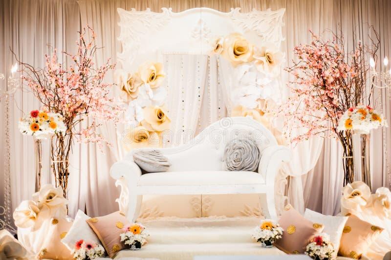 Hochzeits-Dekoration lizenzfreies stockbild