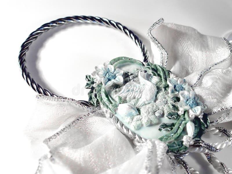 Hochzeits-Dekoration stockbilder