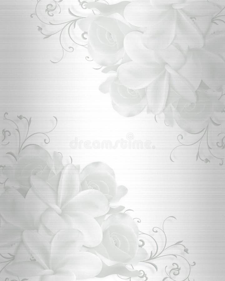 Hochzeits-Einladungs-Hintergrund stock abbildung
