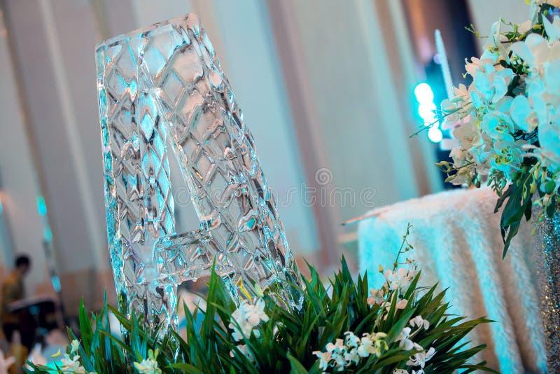 Hochzeits-Eis lizenzfreie stockfotografie