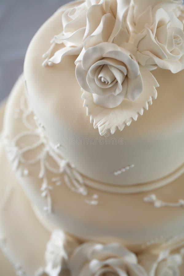 Hochzeits-Kuchen stockfoto