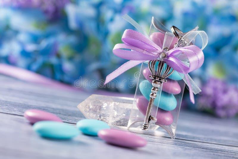 Hochzeits- oder Ereignisbevorzugungen lizenzfreies stockfoto