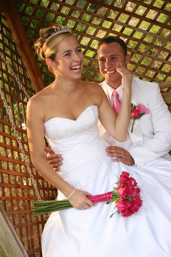 Hochzeits-Paare stockfoto