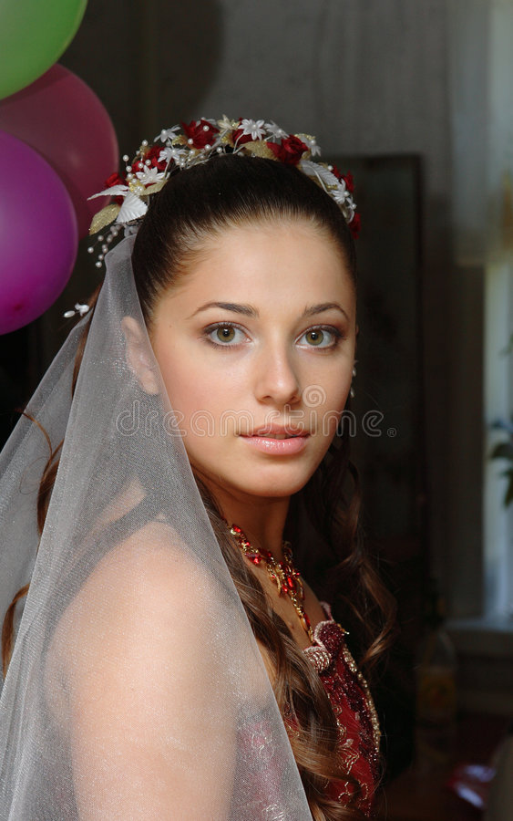 Hochzeits-Portraits stockfotos