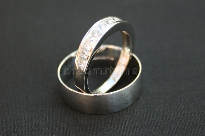 Hochzeits-Ringe stockfotografie