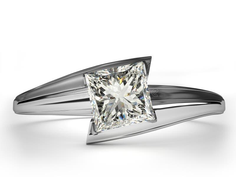 Hochzeits-Ringgeschenk. lizenzfreie abbildung