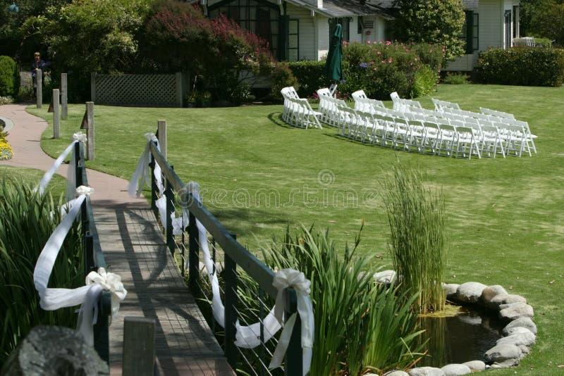 Hochzeits-Standort stockbilder