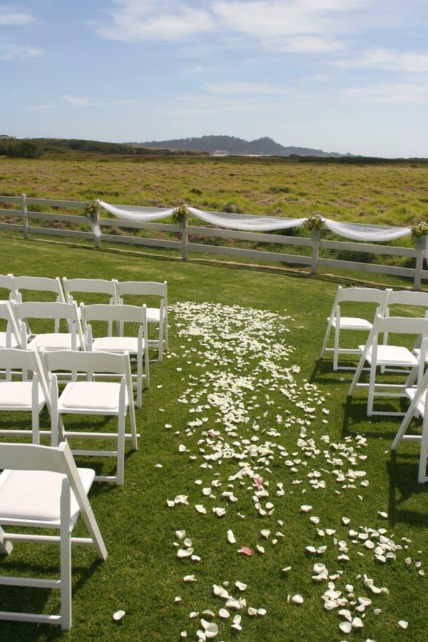 Hochzeits-Standort lizenzfreies stockbild