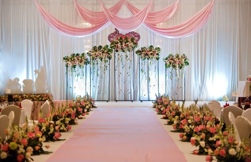 Hochzeits-Stufe stockfotos