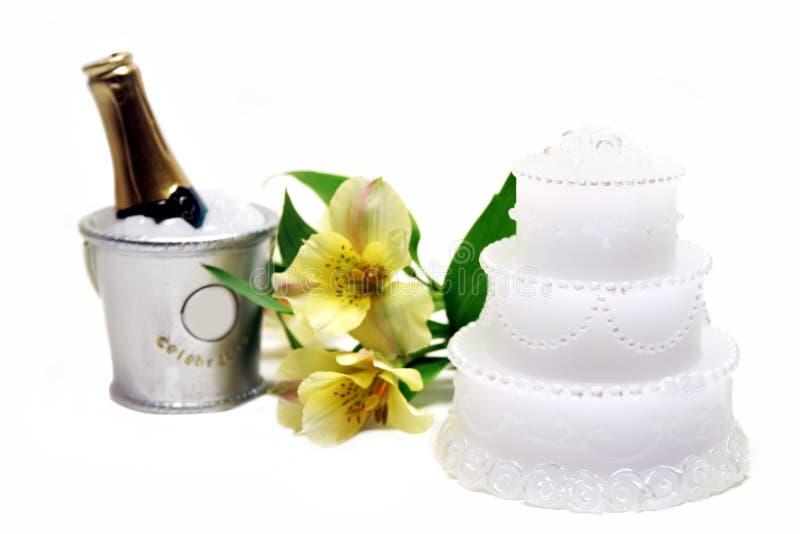 Hochzeits-Thema lizenzfreies stockbild