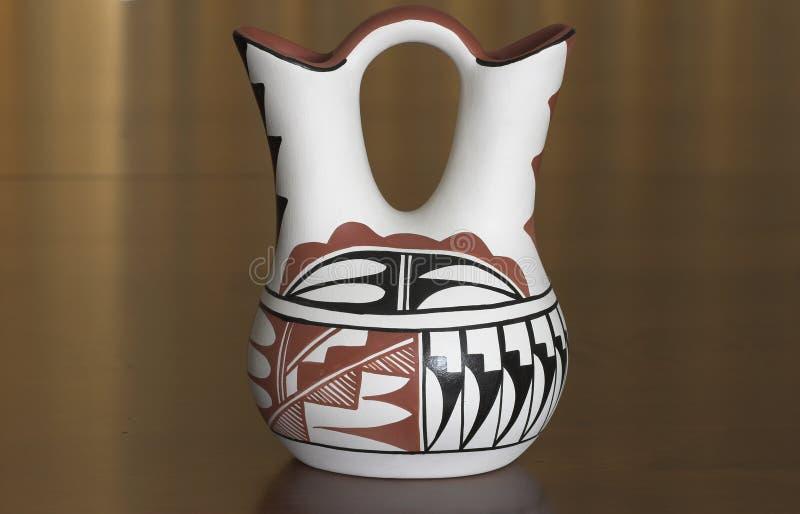 Hochzeits-Vase stockbild
