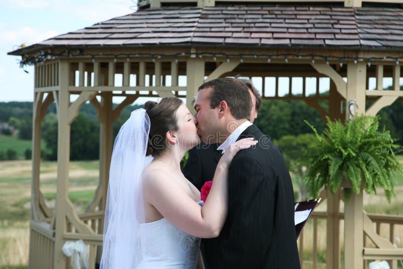 Hochzeits-Zeremonie lizenzfreie stockfotografie