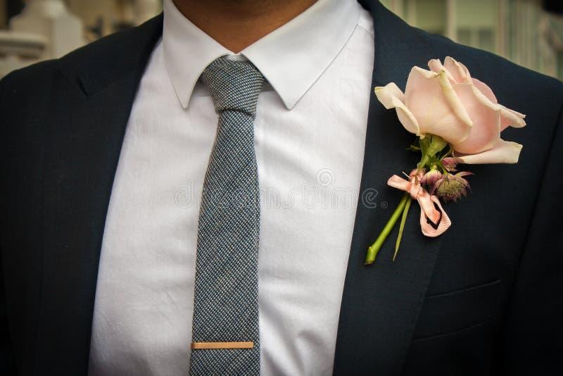 Hochzeitsanzug lizenzfreies stockfoto