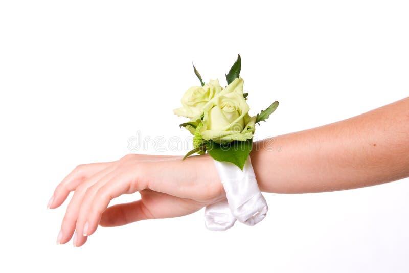 Hochzeitsarmband stockfotos