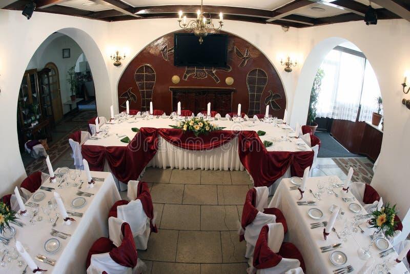 Hochzeitsballsaal lizenzfreie stockfotos