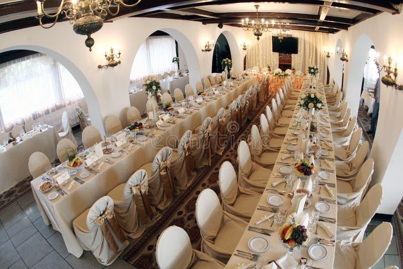 Hochzeitsballsaal lizenzfreies stockfoto