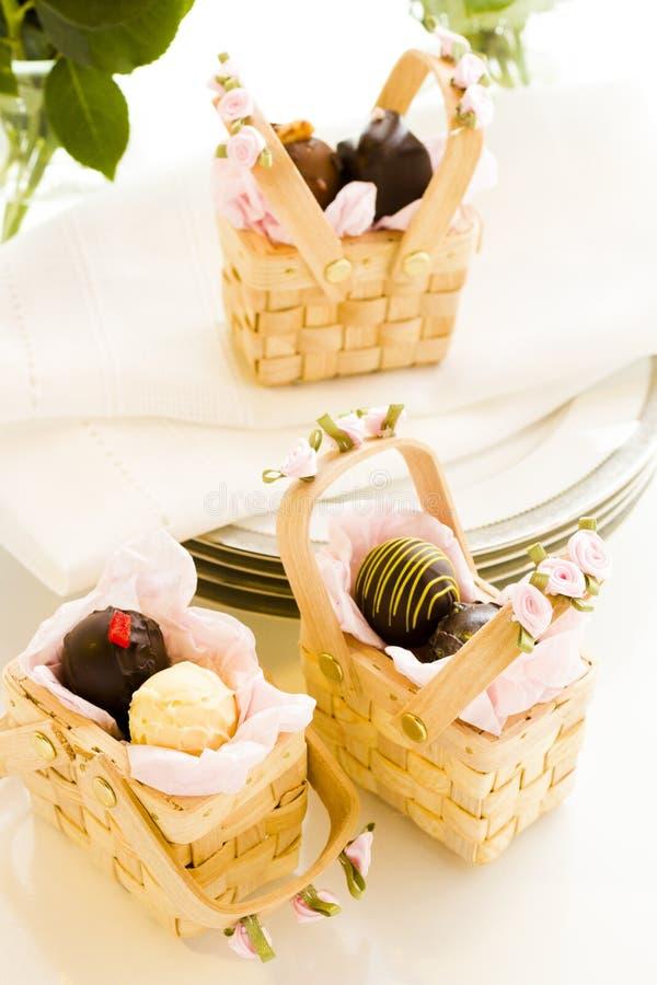 Hochzeitsbevorzugungen lizenzfreies stockbild